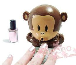 Wholesale Novelty Item Portable Finger Toe Nail Art Polish Dryer Blower Monkey