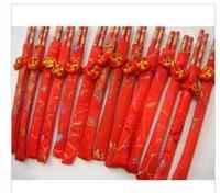 high quality chopsticks   Red married chopsticks (with broca...