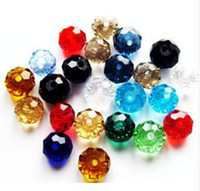 Wholesale Body Jewelry mixed Color Loose mm Swarovski crystal Rondelle Beads
