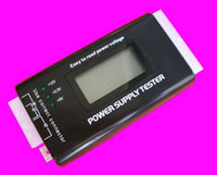 Wholesale V1 PC LCD Power Supply Tester pin SATA HDD Testers
