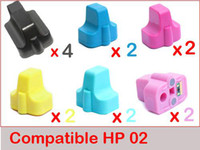 Wholesale 14 ink set Black cartridges for HP PhotoSmart C5180 C6180 D7160