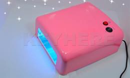 Wholesale V11 W Gel Curing Nail Lamp Light Dryer Tube Manicure UV