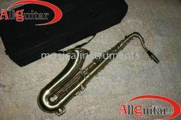 Wholesale Tenor Saxophone antique brass finish Tenor Saxophone