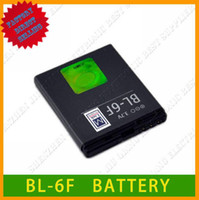 For Nokia above800mAh Li-ion battery BL-6F for Nokia cell phone N78 N79 N95-8G from factory,wholesale,above800mAh