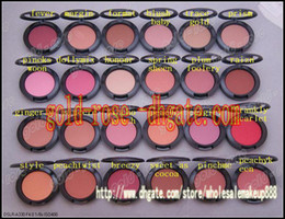 Wholesale HOT Shimmer Blush g color No mirrors no brus Free gift