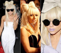 Wholesale Lady GaGa bowknot wig hair insert Combs Wig hair bow headband with hair bow four colors