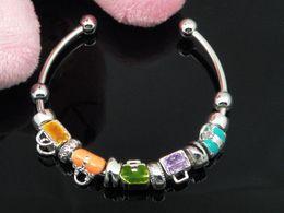 Fashion jewelry 925 Silver face beads charms PAN bracelets charms beads bracelet