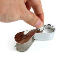 Wholesale New Illuminated X mm Jeweler s Loupe with LED Light