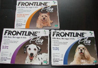 frontline plus for dogs - FRONTLINE PLUS FOR DOGS of ml Dog Flea and Tick Remedies box