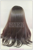 Swiss Lace african american natural hair wigs - full lace wig indian human hair b natural black inch yaki straight