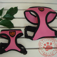 Wholesale New brand pet harness Breathable Dog Harness with Mesh material in Size L dog clothes pet harness