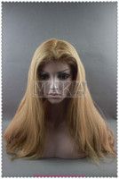 Swiss Lace blonde full lace wigs - beautiful wig manka wig full lace wig human hair indian human hair blonde quot quot silk straight stocks wigs