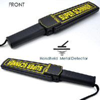 Wholesale Hand Held Metal Detector Extra Sensitive Setting
