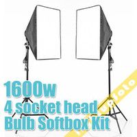 Wholesale PRO STUIDO LIGHTTING w Photo Studio Bulb Continuous Lighting Kit NEW
