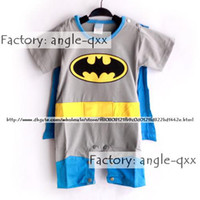 cotton baby romper - Stylish Baby One Piece baby Rompers kids romper bat man Costume Cotton