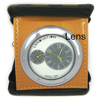 Wholesale Portable Travelling Clock with MP Spy Camera and Mobile detection DVR Camcorder