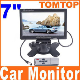 Wholesale Car Rearview Monitor quot Color TFT LCD Work With DVD serveillance camera STB Satellite Receiver K352