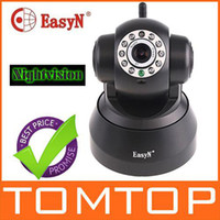 Wholesale EasyN Wireless IP Camera Webcam Cam Surveillance System Security Camera Cameras Wifi Network S63B