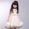 Girls dresses College wind Lace big bow yarn girl dress.