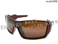 Wholesale Stylish Men s Sunglasses Brown Polycarbonate Material Frame Sunglasses Brown Resin Lens