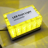 Wholesale Emergency LED Waterproof Magnets Strobe Light Amber