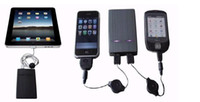 Wholesale 5000mah Universal powerbank Portable Power Supply mini Power Supply For IPad2 iPhone MP3