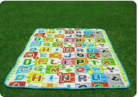 Wholesale New In Retail Package Letter Design Baby Play Mats Playmats mm Many Styles