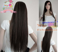 Wholesale BANGS celebrity hairstyle Human hair Full lace wigs Silky straight Hand tied