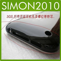Wholesale Back Cover housing For Iphone G Replacement Battery Door Back with Chrome Bezel Ring Assembly New