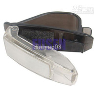 Cheap wholesale free shipping New Car Sunglasses Sun Glasses Holder Visor Clip Folder