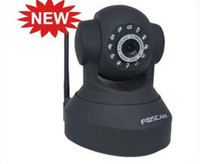 Wholesale Hot Sell FOSCAM Wireless IP Camera IR Cam Pan Tilt Dual Webcam FI8918W