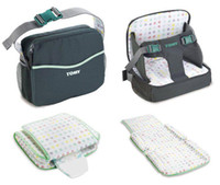Wholesale Hot TOMY in Boost seat diaper bag changing pad Go anywhere oddler High Chair booster nappy bag