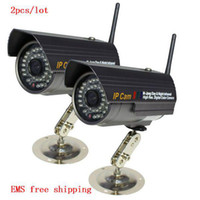 Wholesale EMS Night Vision Wireless IP Network Surveillance Security Camera Easy Installation