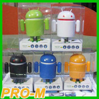 Wholesale hot cheap android speaker robot android speaker mini robot android speaker