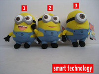 Wholesale New Movie toy Despicable Me Minion inches cm Plush Doll toys Jorge Dave Stewart D Eyes