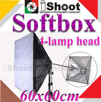 Wholesale iShoot Flash Softbox Soft box x24inch For Continuous Four head light