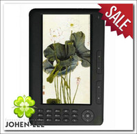 Wholesale HD inch Anti glare colored E book E reader P video player Built in GB