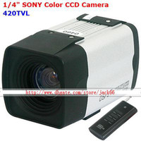 Wholesale 1 inch SONY CCD TVL X Zoom Camera mm Lens