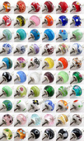 Wholesale 180 Mixed Charms Lampwork Glaze Beads Fit European Brcaelet Diy Bead Handcraft