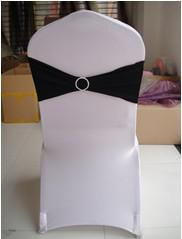 Black Spandex chair bands with rhinestone spandex bands with diamond buckle 100pcs a lot free shipping