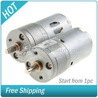 Wholesale Best Selling x V RPM Mini Torque Gear Box Motor Hobby DC NEW