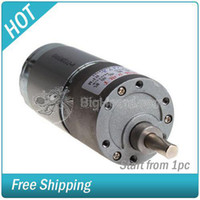 Wholesale New Arrived RPM DC Geared Torque Gear Boxed Motor V