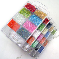 Wholesale 5pcs Boxes Mixed Jewellery Making Seed Beads Sets