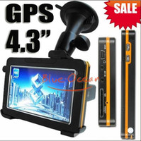 Wholesale Hot Selling Inch GPS Car GPS Navigation Multi langurage GB SD Card Free Map Flash Ebook Mp3 Mp4