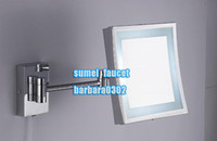 Wholesale wall mounted cosmetic mirror with LED light