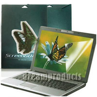 Wholesale 12 quot inch Widescreen Anti Glare Anti scratch Screen Protector for Laptop Notebook PC LCD