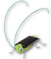 Wholesale Solar Powered Grasshopper locust cricket Funny Solar toys Novelty item Educating