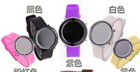 Wholesale 100pcs and best price colors wrist sport watch innovation jelly digital watch Children watch LKJ18