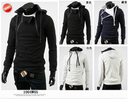 Wholesale monde Korea Men s Hoodie Rider black Jacket men s Coats mens Outerwear men s Jackets
