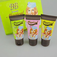 Wholesale 3IN1 BB Cream Sun Cream Make Up Base Foundation Bright amp Smooth color3color package ml B810